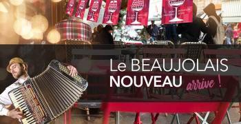 Fête du Beaujolais Nouveau le jeudi 21 Novembre 2019
