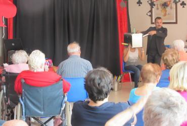 Sortie à Saint Raphael le 23 septembre 2016 pour un spectacle de magie
