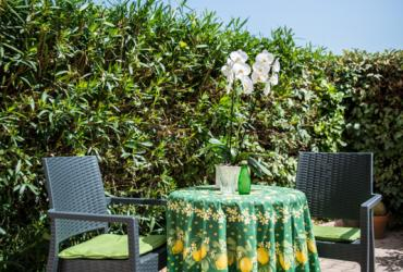 Terrase private résidence senior draguignan
